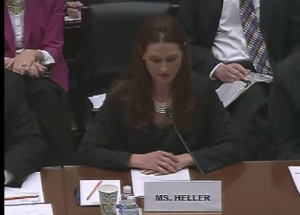 Video of client testimony to House Committee