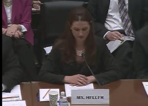 Heller testimony temp